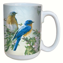 Bluebird Branch 15 oz. Lovely Mug