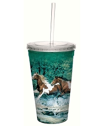 Spring Creek Run 16 oz. Cool Cup Tumbler