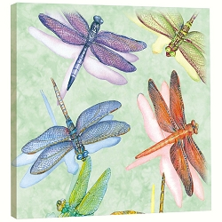 Dragonflies EcoArt Plaque
