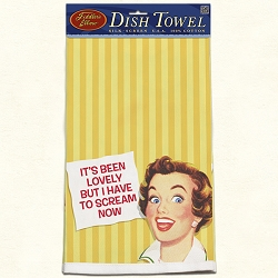 It's Been Lovely Retro Dish Towel