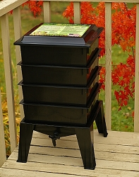 Worm Factory® 360 Composting System Black