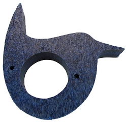 Recycled Poly Wren House Predator Guard Blue Set of 2