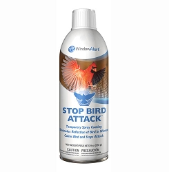 Window Alert Stop Bird Attack Spray