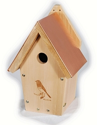 Audubon Coppertop Bluebird House