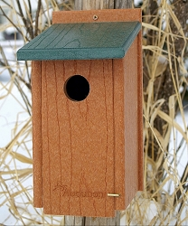 Woodlink Going Green Bluebird House