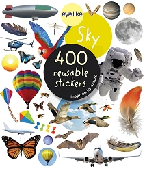 Eyelike Sky 400 Reusable Stickers
