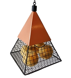Geo Pyramid Suet Ball Feeder