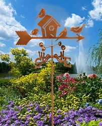 Garden Pole Weathervane Mount