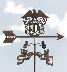 Navy Weathervane