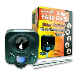 Bird-X Solar Yard Gard Ultrasonic Animal Repeller