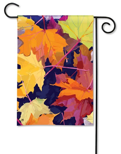 Maple Leaves Garden Flag
