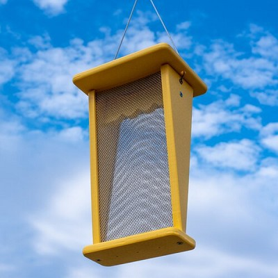 Recycled Poly Goldfinch Nyjer Feeder