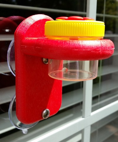 Nectar Dots Window Hummingbird Feeder