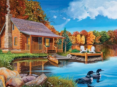 Loon Lake 500 Piece Jigsaw Puzzle