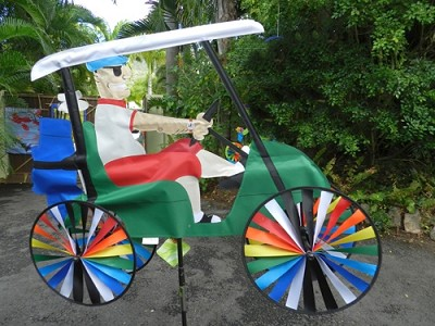 Golf Cart Wind Spinner
