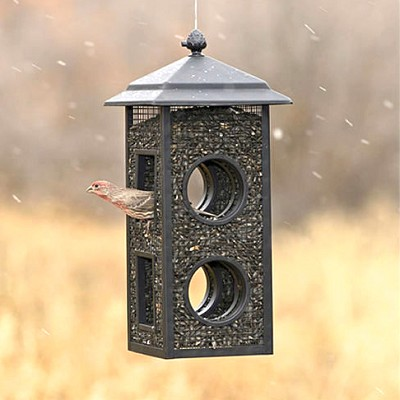 Woostream Fly-Through Mesh Bird Feeder