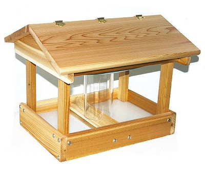 Select Cedar Pavilion Feeder with Seed Hopper