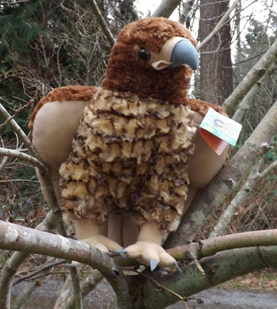 Cuddlekins Red-Tailed Hawk 12""