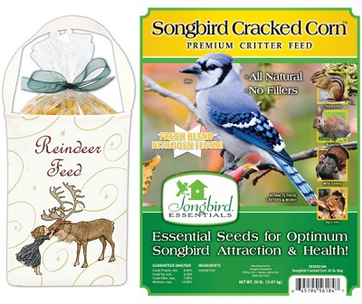 Reindeer Corn Feed Gift 5-Bag Kit