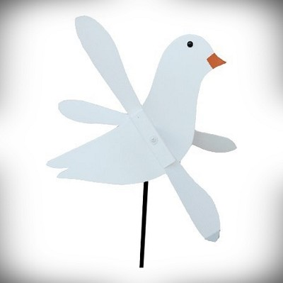 Whirly Bird Dove Spinner