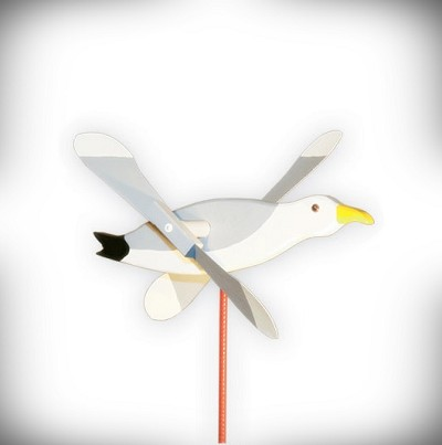 Whirly Bird Seagull Spinner