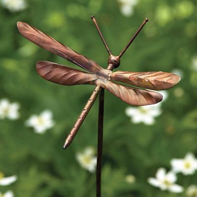 Dragonfly Garden Stake Ornament