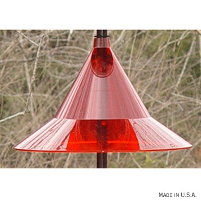 Squirrel Away Pole Mount Baffle Ruby Red