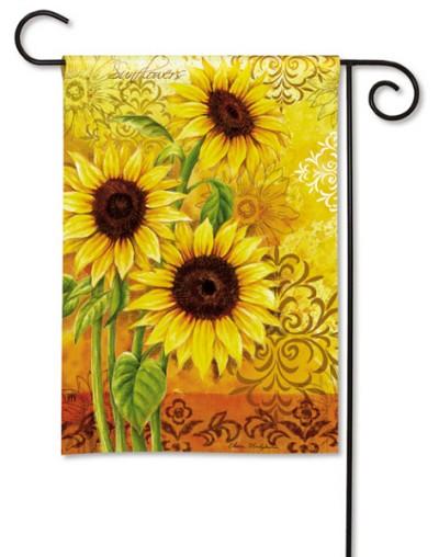Sunflower Days Garden Accent Flag