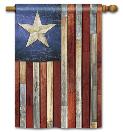 Barn Star House Flag