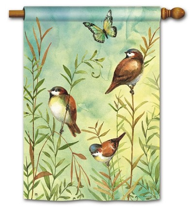 Sanctuary Sparrows House Flag