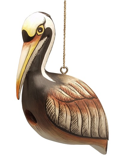 Brown Pelican Birdhouse