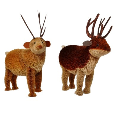 "Brushart Reindeer 11"" Set of 2"