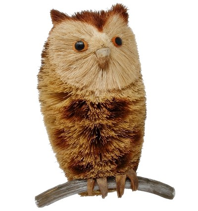Brushart Spotted Owl with Branch 10""