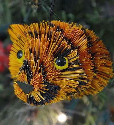 Brushart Tiger Bauble Ornament