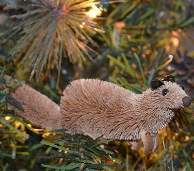 Brushart Ferret Ornament