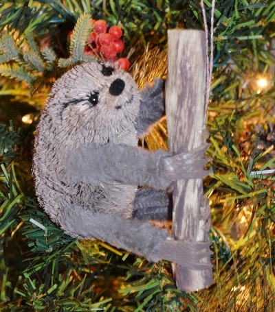 Brushart Sloth Ornament