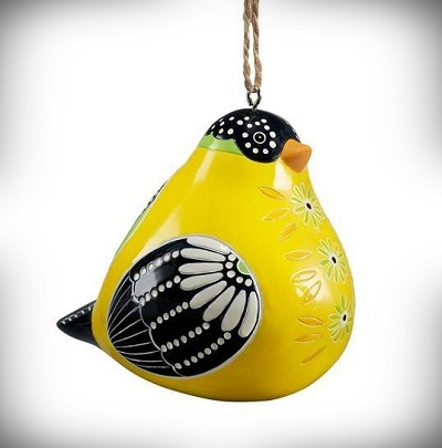 Goldfinch Bird Song Ornament