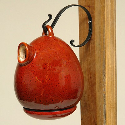 Alcyon Egg Bird Home Oxide Red