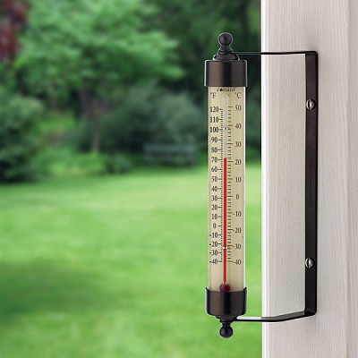 Conant Decor Indoor/Outdoor Thermometer Bronze Patina