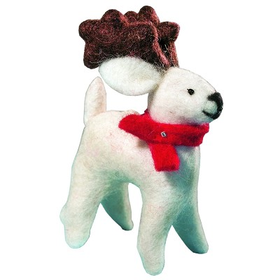 Wild Woolies Arctic Caribou Ornament