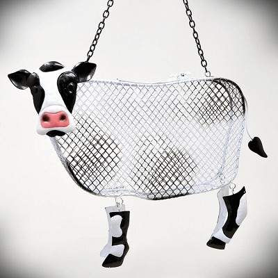 Cow Mesh Bird Feeder