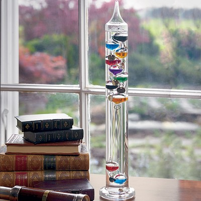 Galileo Glass Indoor Thermometer 13""