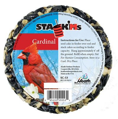 Stack'Ms Seed Cake Cardinal 6/Pack