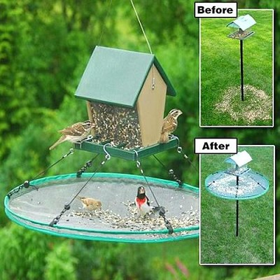 "Seed Hoop Bird Seed Catcher 16"", 24"" and 30"" Diameter Sizes"