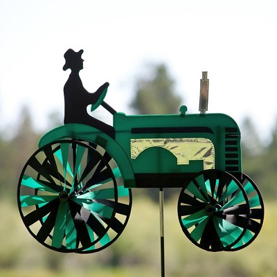 Classic Green Tractor Spinner 24""
