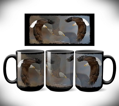Eagles Coffee Mug 15 oz. Set of 2