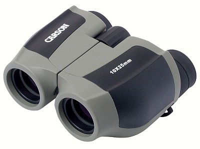 Carson Optical ScoutPlus Compact Binoculars 10x25mm