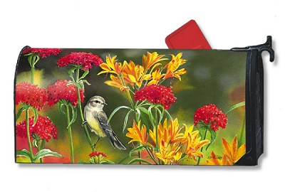 Summer Flowers MailWraps Magnetic Mailbox Cover