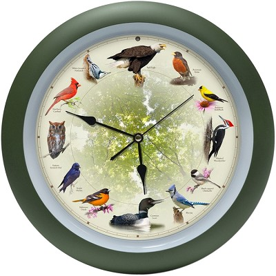 "20th Anniversary 13"" Singing Bird Clock"