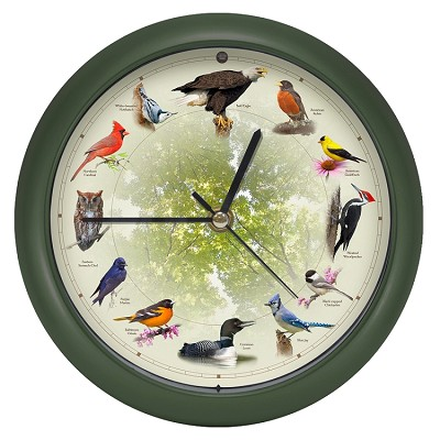 "20th Anniversary 8"" Singing Bird Clock"